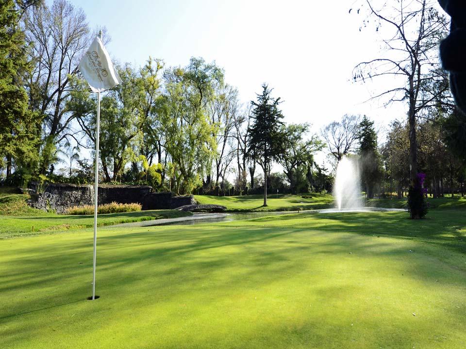 Campo de golf cerca de cdmx